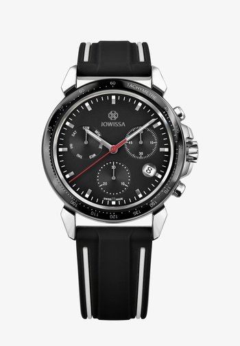 QUARZUHR LEWY 9 SWISS - Chronograph watch - schwarz