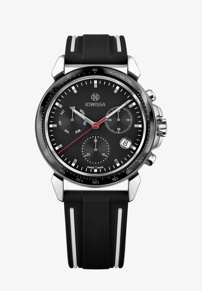 Jowissa - QUARZUHR LEWY 9 SWISS - Chronograph watch - schwarz