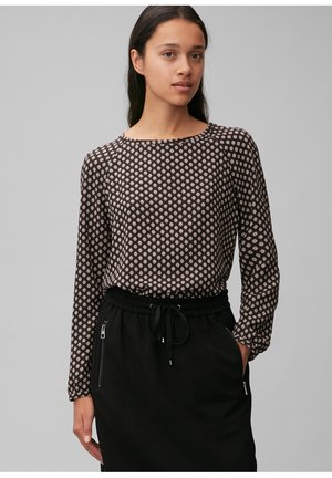 Blouse - multi/black