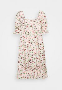 SMOCKING BABYDOLL DRESS - Day dress - strawberries