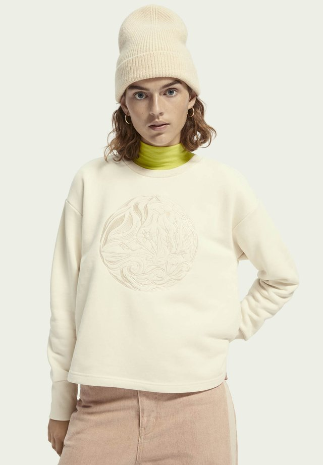Sweatshirts - ecru