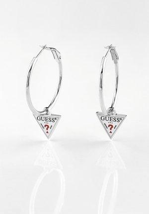 HULA HOOPS - Earrings - argent