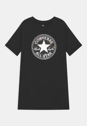 SHORT SLEEVE CHUCK PATCH  - Vestito estivo - black