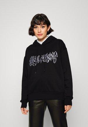 ALISA HOODIE - Sweatshirt - black