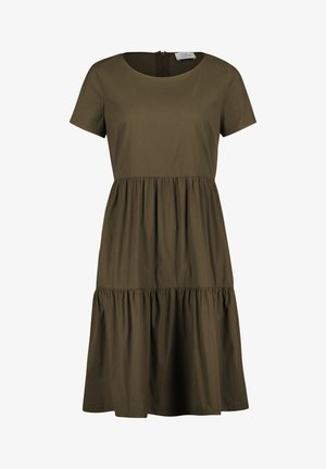 MIT STUFEN - Day dress - green leaf