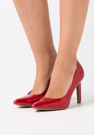 COURT SHOE - High heels - chili