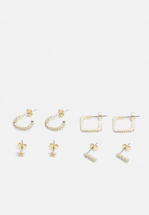 PCONIA  - Earrings - gold colour/clear