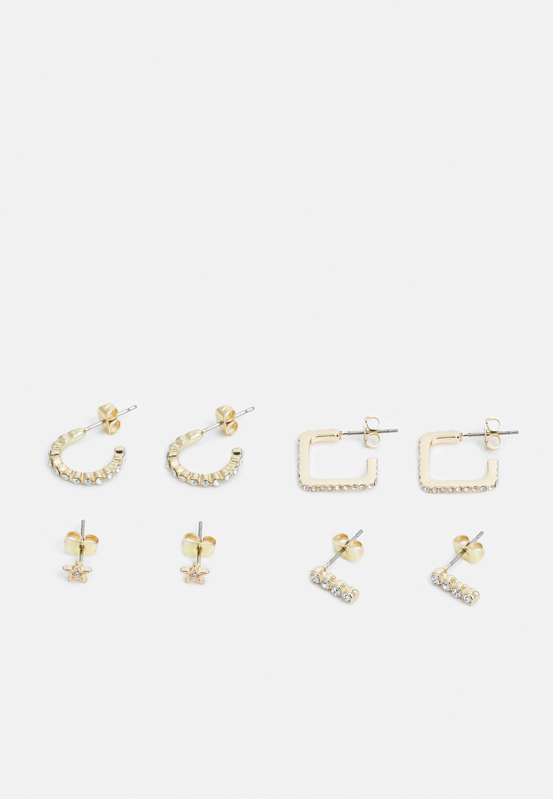Pieces - PCONIA  - Earrings - gold colour/clear
