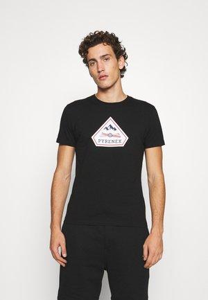 KAREL - T-shirt print - black
