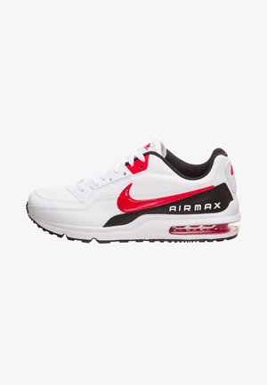 AIR MAX - Trainers - white / university red / black
