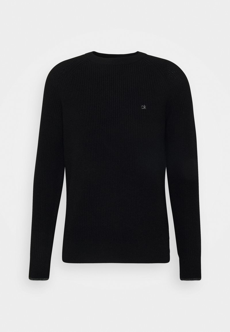 Calvin Klein - CREW NECK - Jumper - black