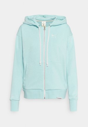 STANDARD ISSUE HOODIE - Mikina na zip - light dew/pale ivory
