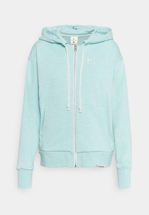 STANDARD ISSUE HOODIE - Zip-up hoodie - light dew/pale ivory