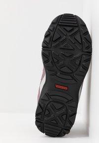 adidas Performance - TERREX HYPERHIKER TRAXION HIKING SHOES - Outdoorschoenen - tech purple/core black/shock red - 5
