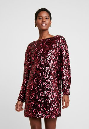 KALILA DRESS - Sukienka koktajlowa - burgundy