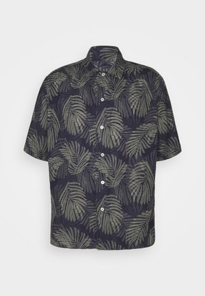 RESORT PRINTS - Shirt - dark blue