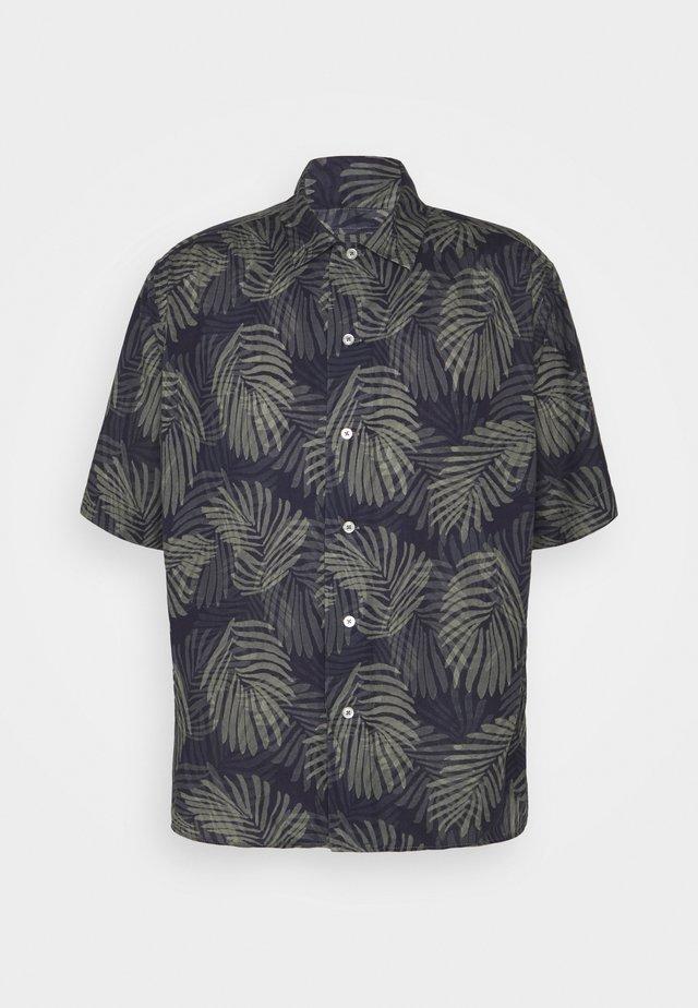 RESORT PRINTS - Camicia - dark blue