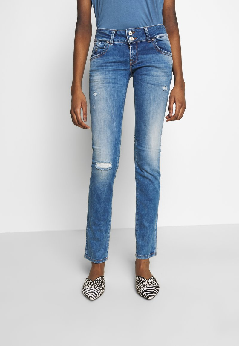 LTB - MOLLY - Slim fit jeans - ritnoblue x wash
