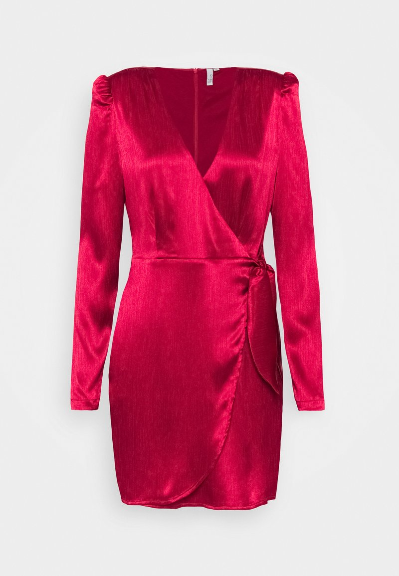 Nly by Nelly - TIE WRAP DRESS - Cocktail dress / Party dress - red