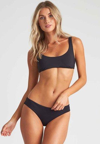 Bikini top - black pebble