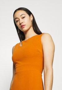 WAL G. - MELANIA CUT OUT DRESS - Společenské šaty - orange - 3