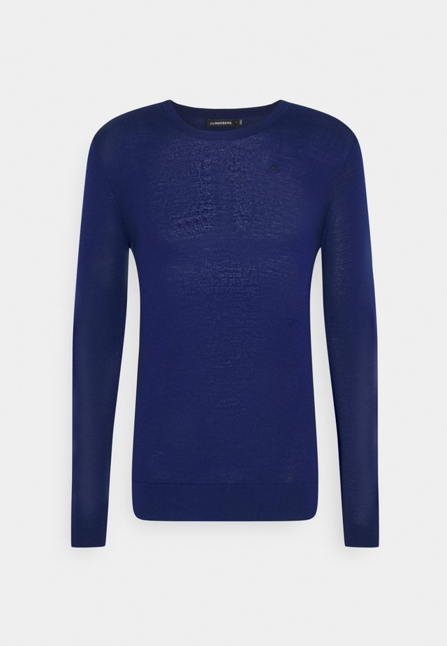 CREW NECK - Strikkegenser - midnight blue