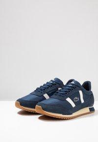 Lacoste - PARTNER RETRO - Sneaker low - navy/offwhite - 2