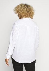 River Island Plus - Button-down blouse - white - 2