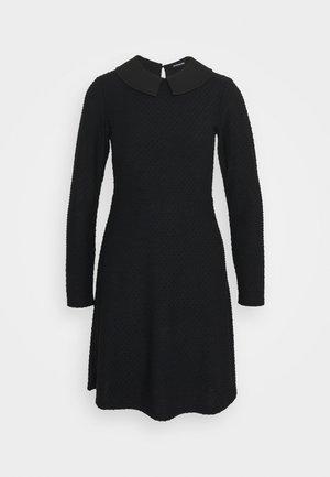 Jersey dress - black