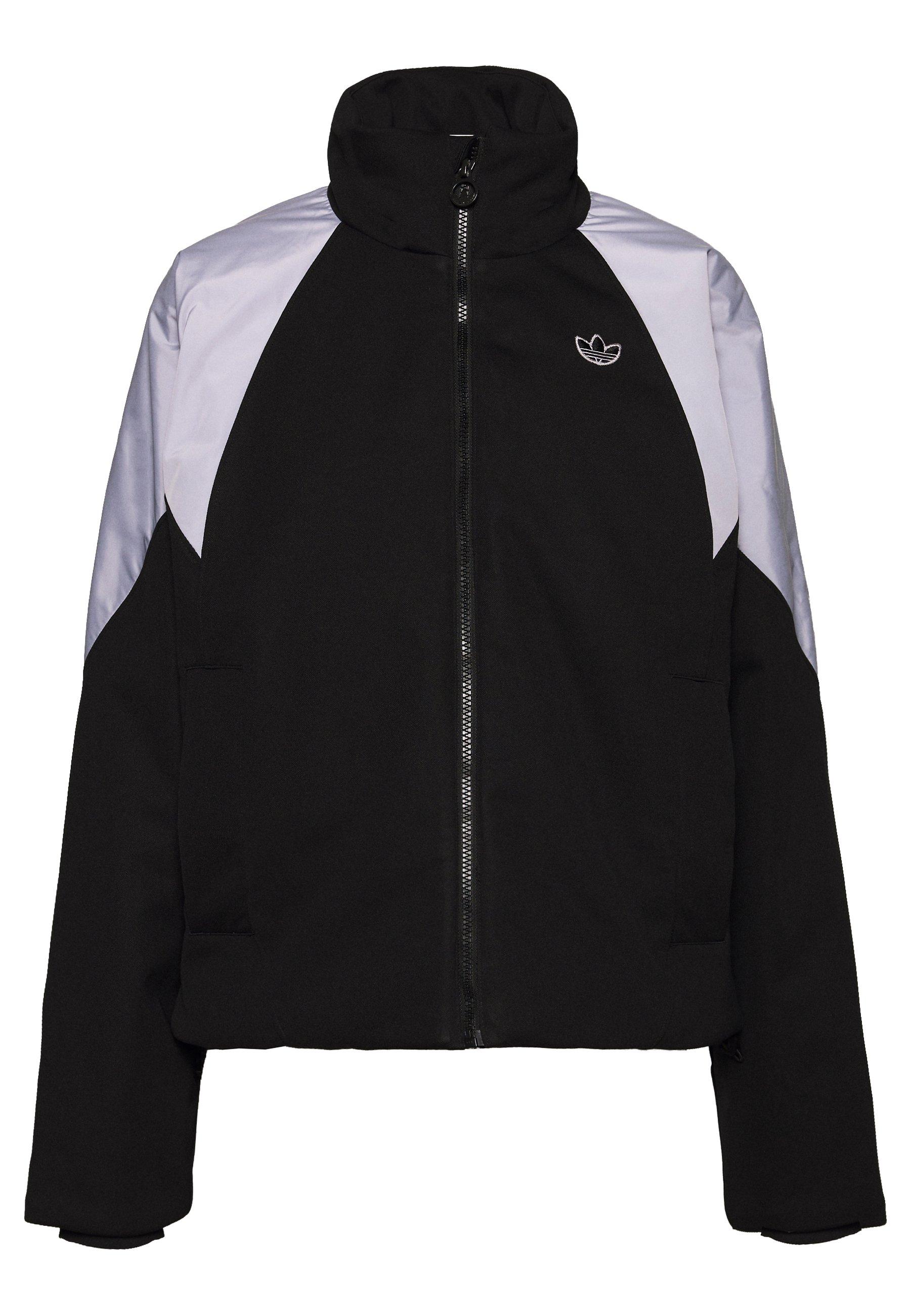 adidas Originals CROPPED PUFFER Vinterjakke blackwhite