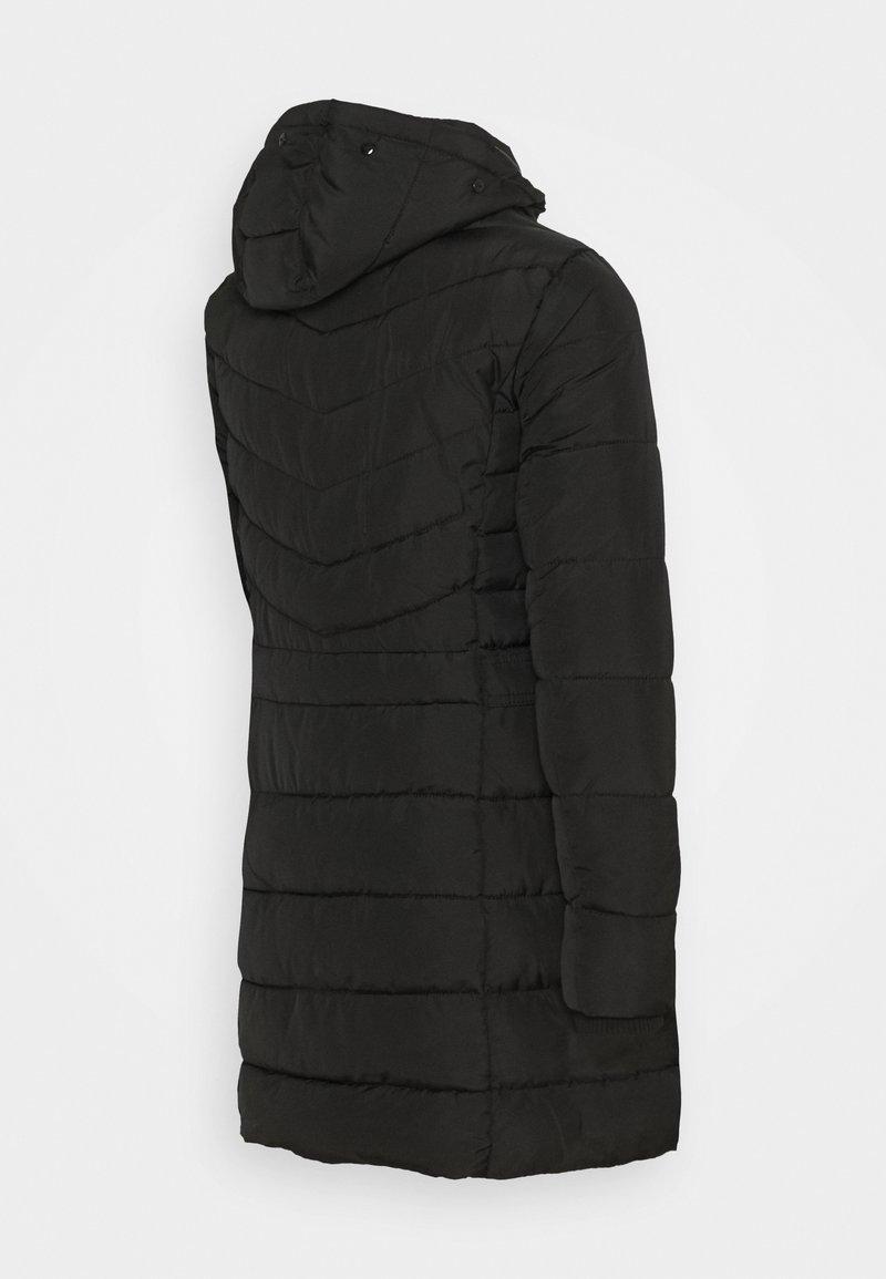 New Look Maternity LONGLINE BELT TRIM PUFFER - Wintermantel - black/schwarz jgenhH