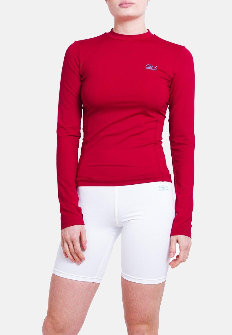 SPORTKIND - Sports shirt - bordeaux rot
