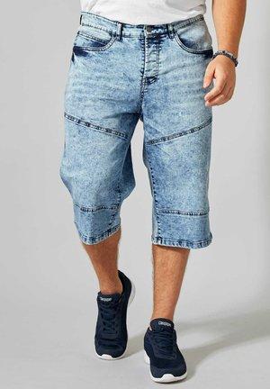 Denim shorts - blue stone