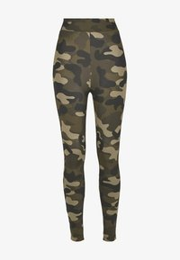 Urban Classics - Leggings - Trousers - wood camo - 4