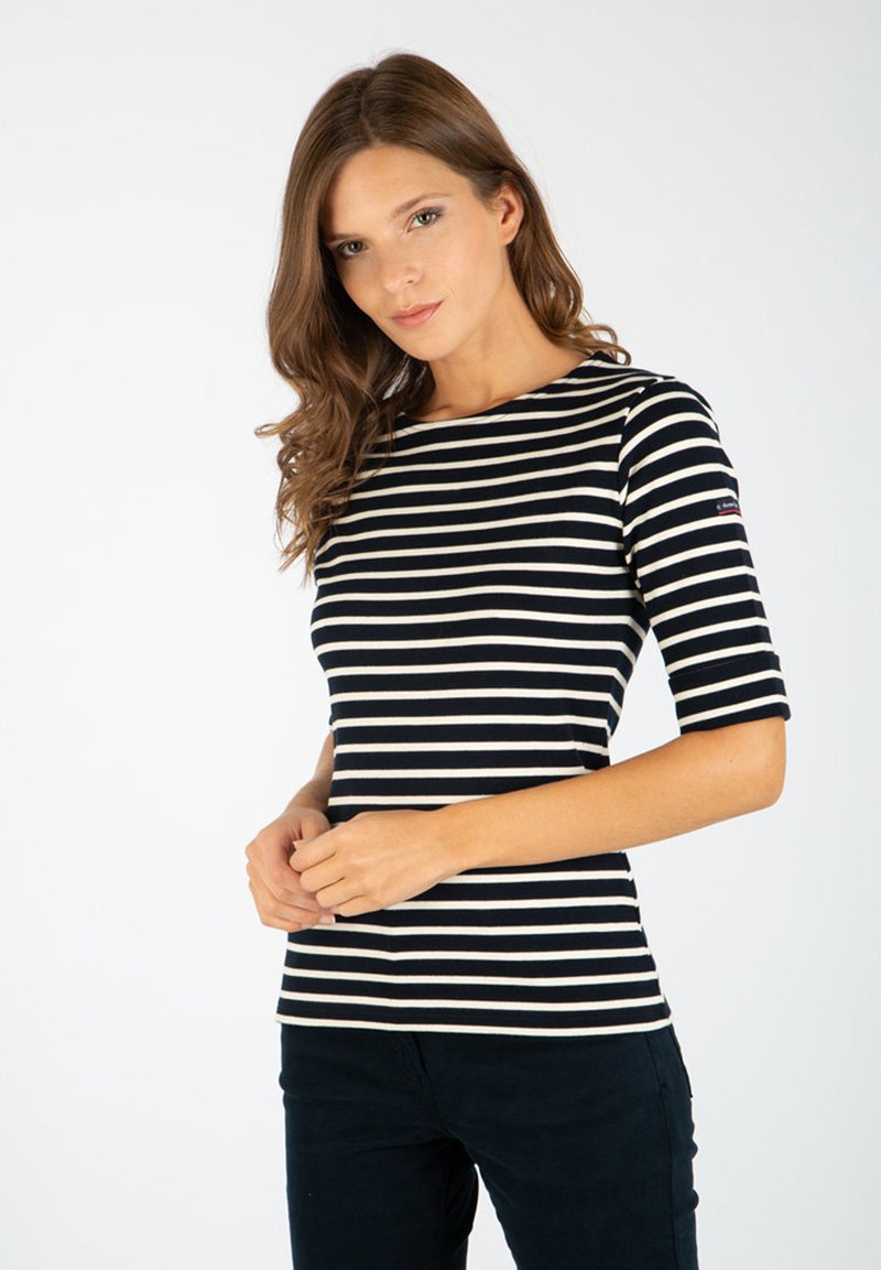 Armor lux - CANCALE MARINIÈRE - Long sleeved top - rich navy nature