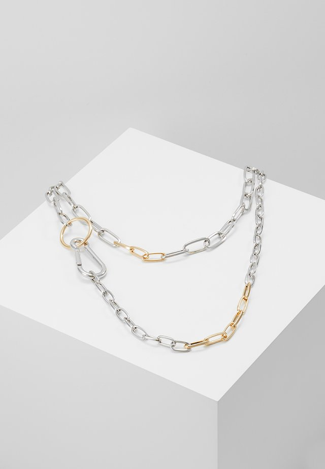CHAIN LINK DOUBLE ROW - Collier - multi
