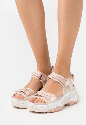 ACE - Sandály na platformě - pristine/pinksalt/whisper