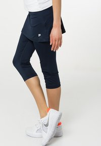 Fila - SKORT SINA 2-IN-1 - Leggings - peacot blue - 3