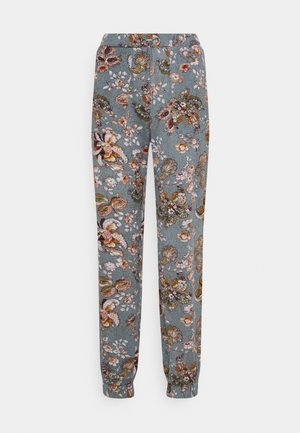 ONLELCOS EMMA LONG PANT - Tracksuit bottoms - balsam green