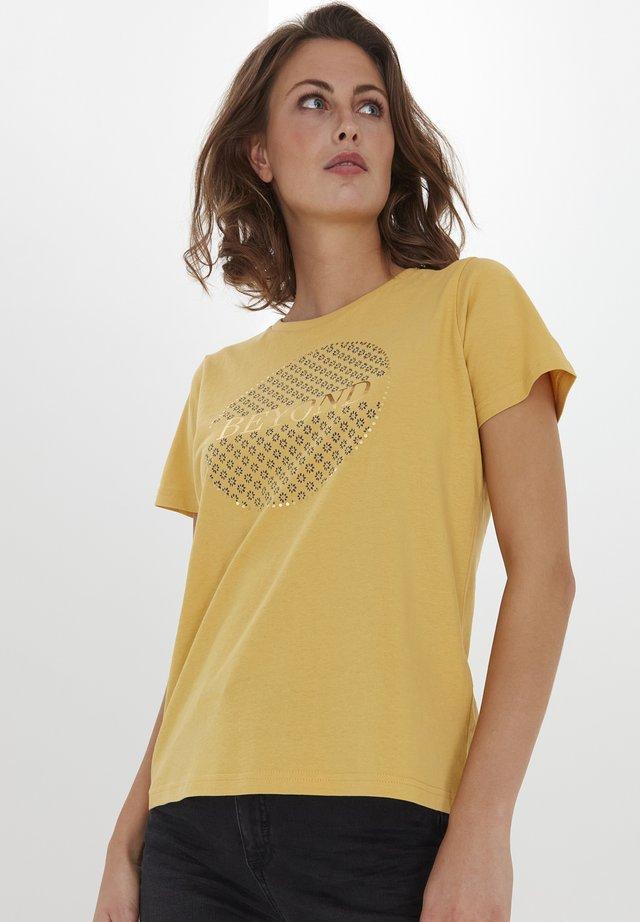 FRPETEE 2  - T-shirts print - ochre