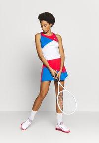 ASICS - CLUB TANK - Sports shirt - electric blue/classic red - 1