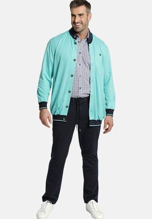 veste en sweat zippée - türkis