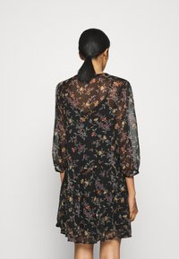 Vero Moda - VMWONDA TUNIC - Day dress - black/tini - 2