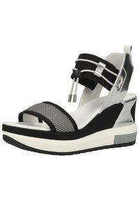 NeroGiardini - Platform sandals - grigio - 1