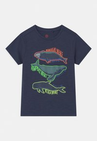 Lemon Beret - SMALL BOYS - Print T-shirt - blues - 0