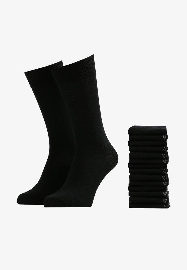 15 PACK - Sokken - schwarz