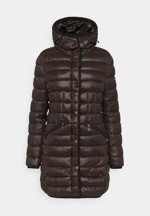 Winter coat - chocolate