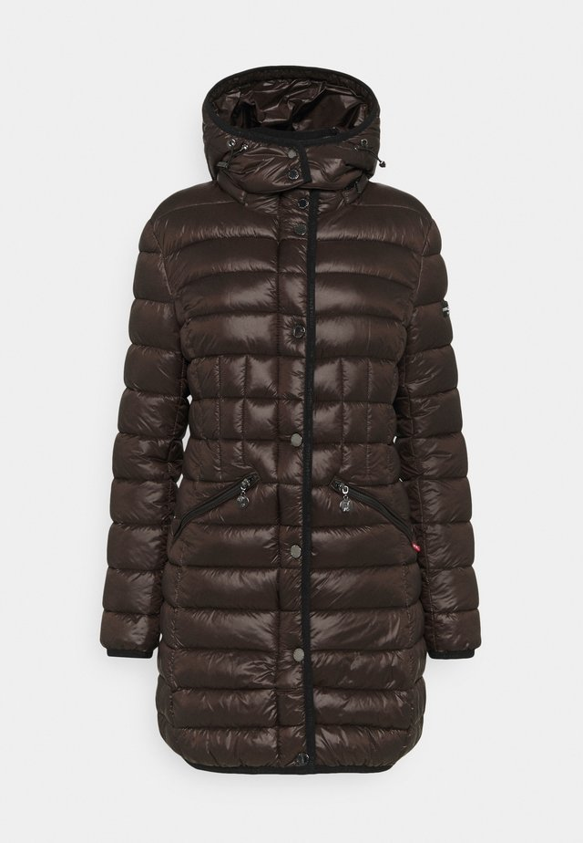 Winter coat - chocolate