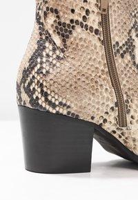 RE:DESIGNED - DEDRA - Kotníkové boty - beige - 2