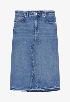 BROKY - A-line skirt - bleu moyen